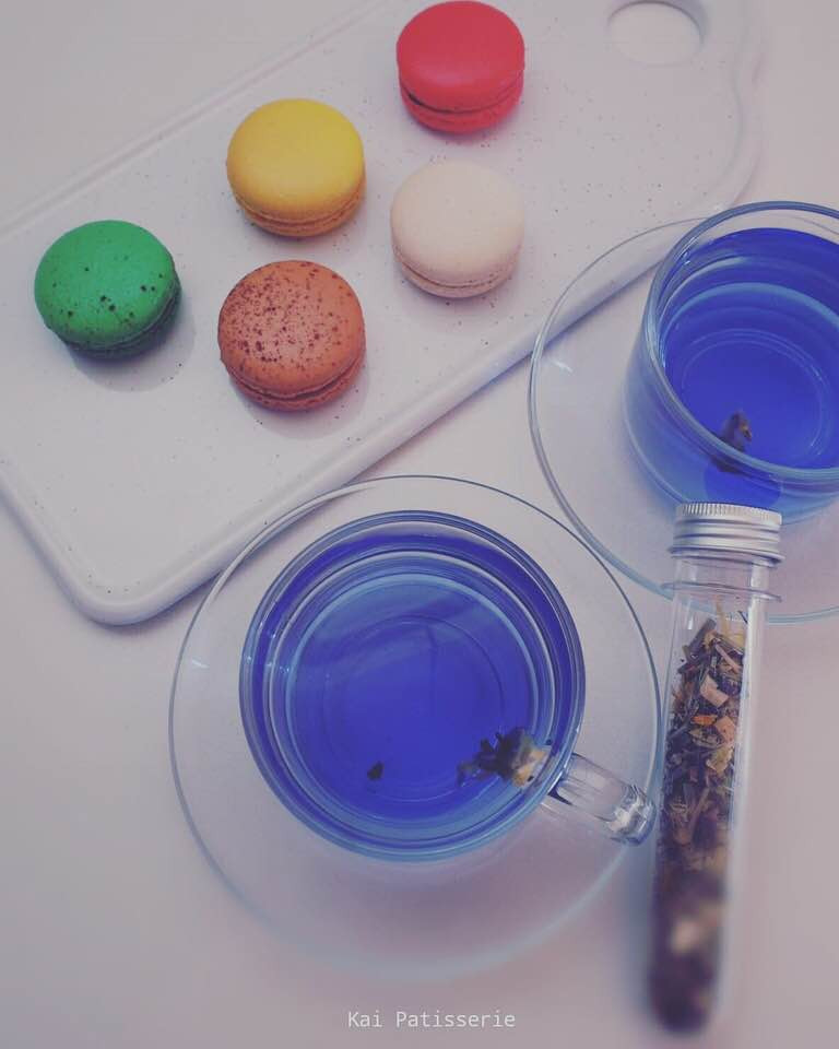 Blue Tea | MY BLUE TEA | BLUE LATTE