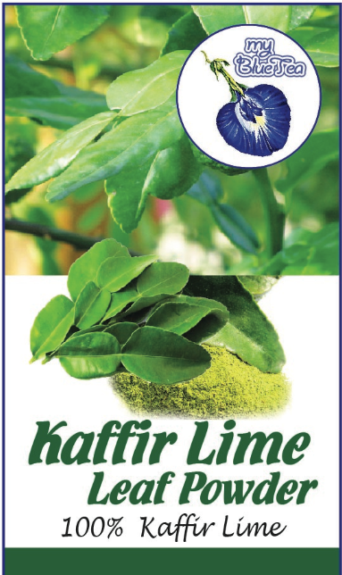 Kaffir Lime Leaf Powder | MY BLUE TEA