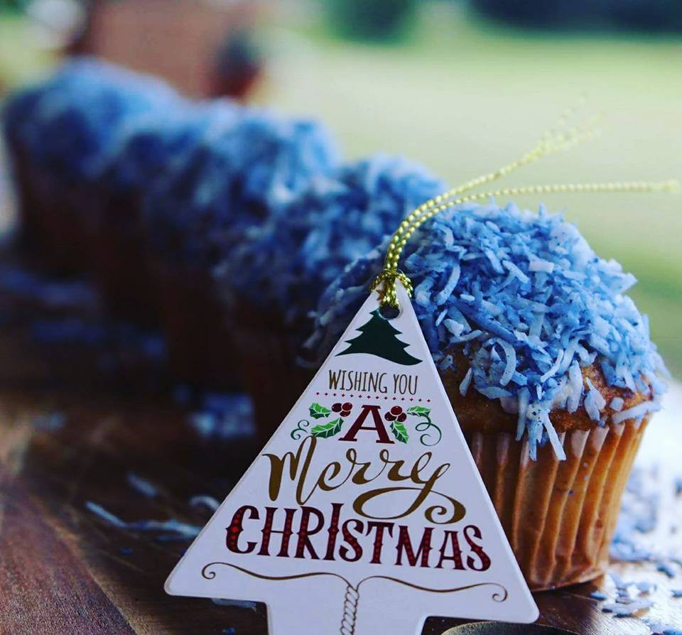 Cupcake | Christmas | MY BLUE TEA