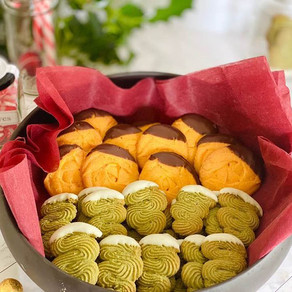 Exotically Yours, Jackfruit and Pandan Butter Cookie Recipe