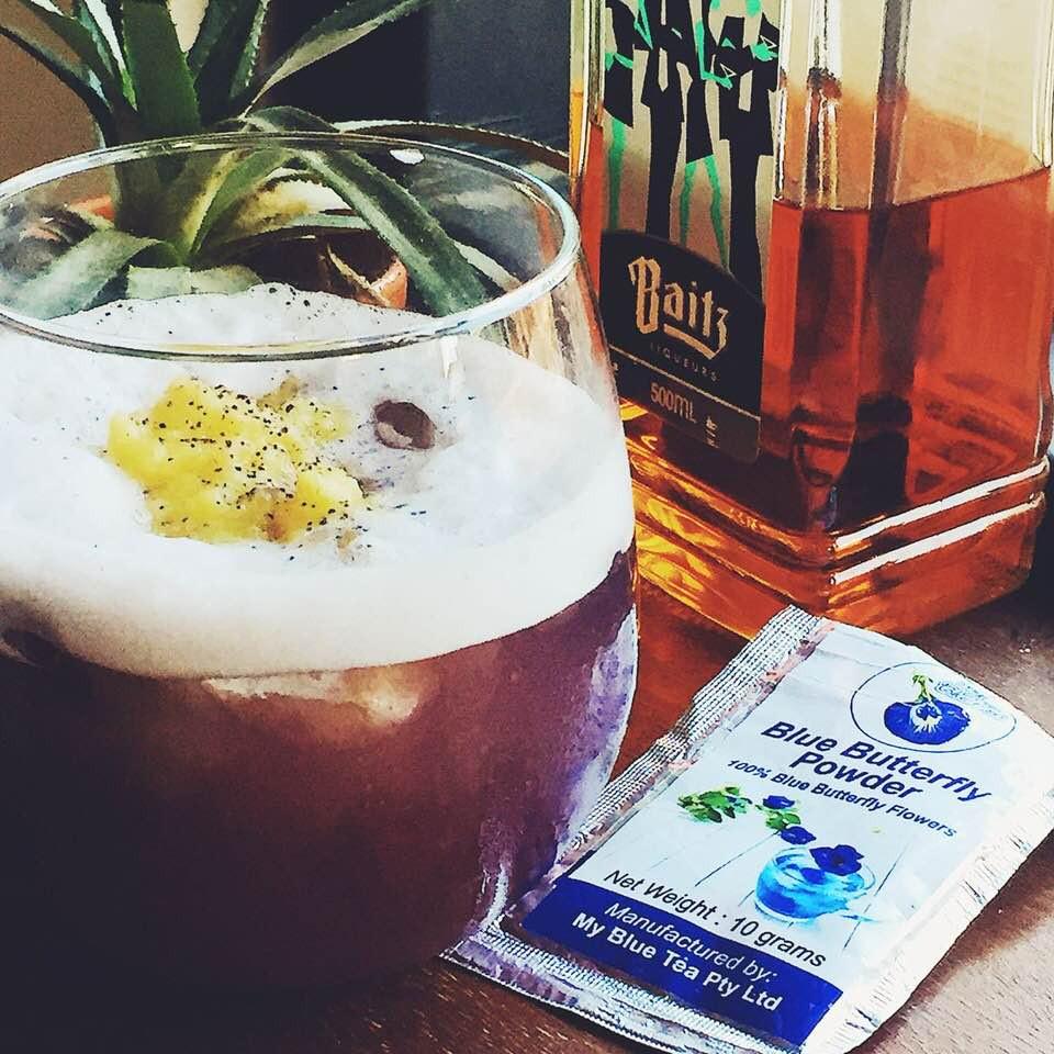 Pina Colada | Butterfly Pea | MY BLUE TEA