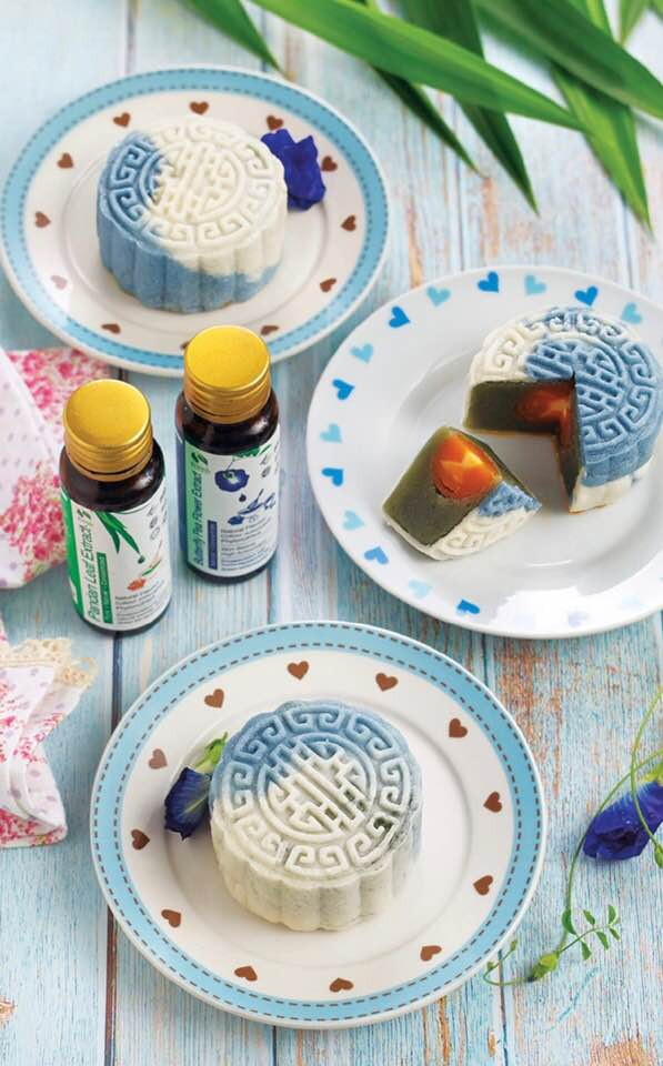 How to make blue Mooncake | Blue Tea | Butterfly Pea Tea