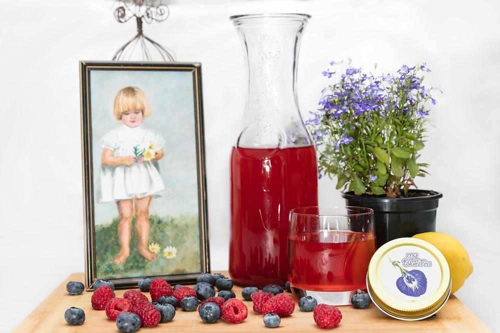 Roselle Tea | MY BLUE TEA
