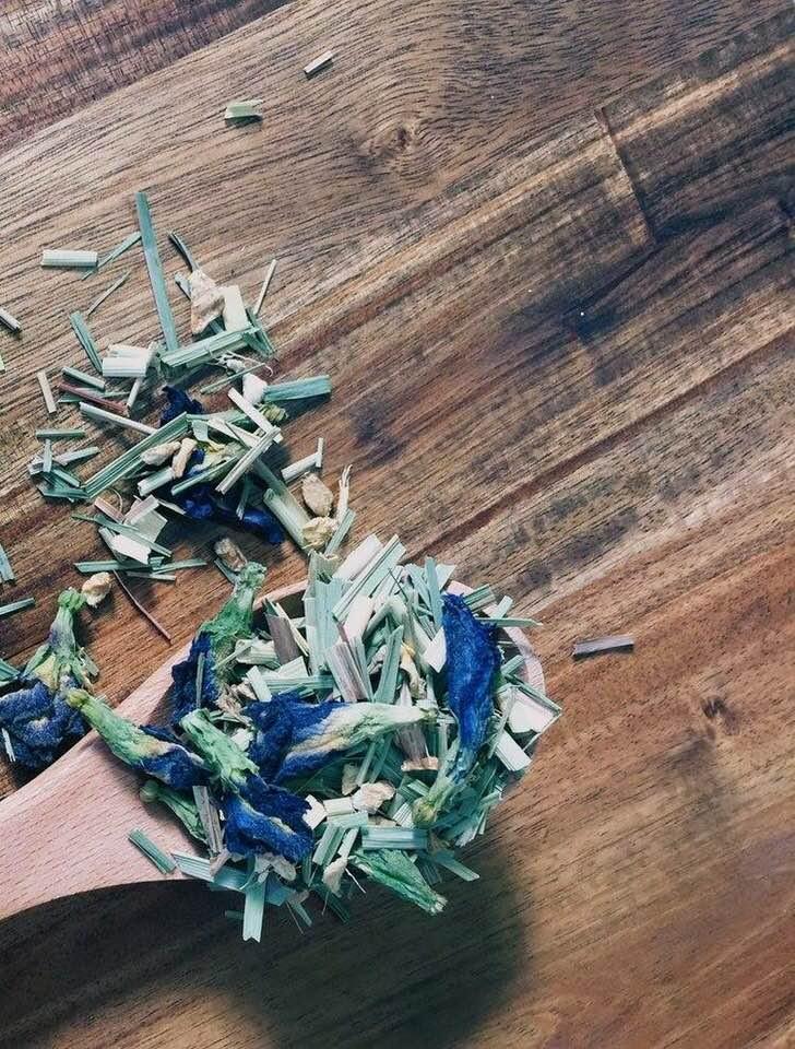 Butterfly Peat Tea | MY BLUE TEA