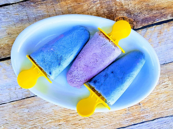 Blue Butterfly Ice Popsicles | MY BLUE TEA