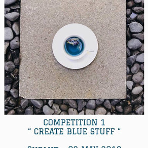 *CREATE BLUE* COMPETITION - Giveaway Time!