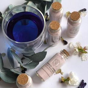 Making Plant-Based Skincare using My Blue Tea Superfood Powder