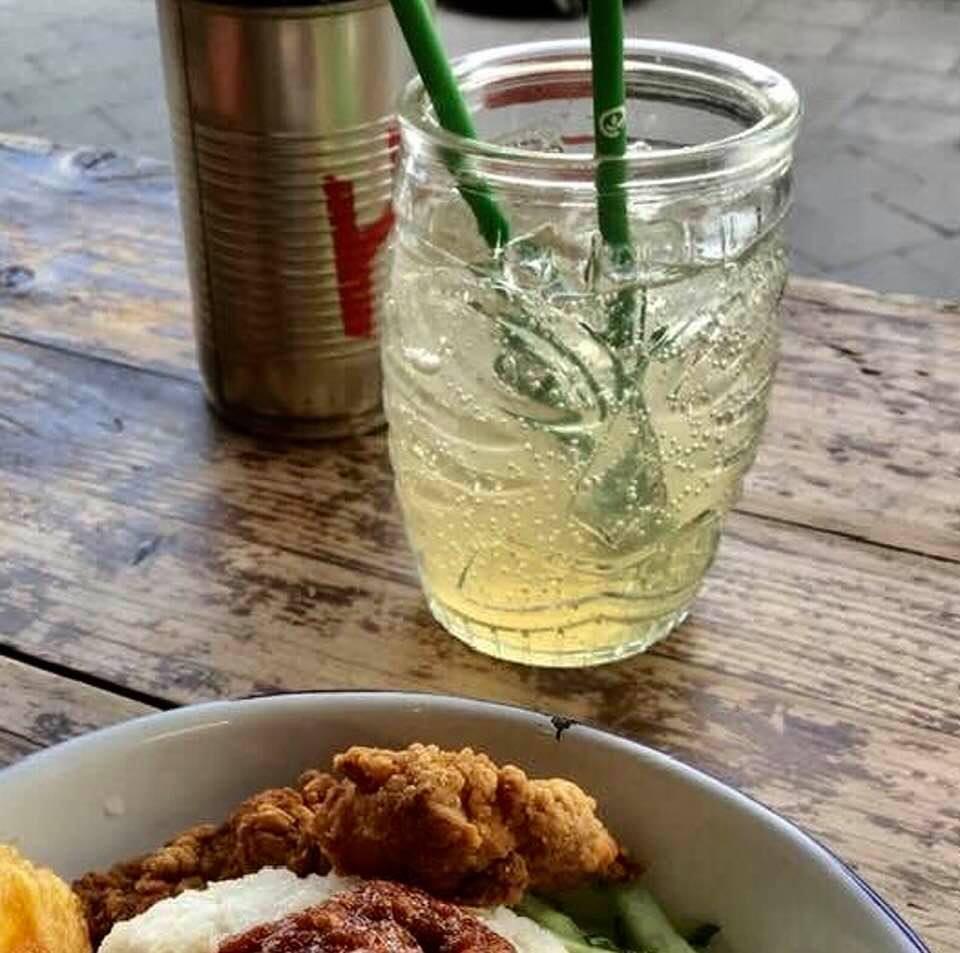 Pandan   Blue Tea   Soda
