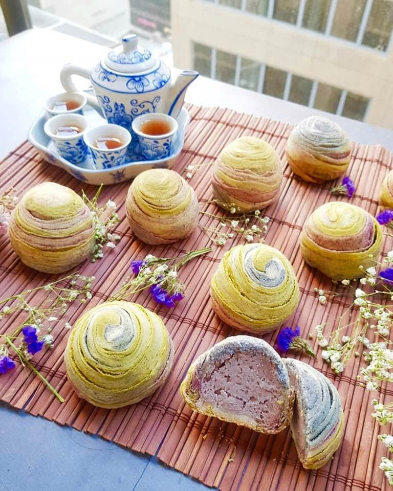 Mooncake | Mid Autumn Festival | Butterfly Pea