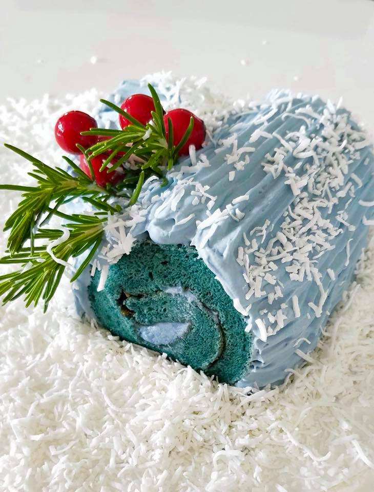 Christmas | Yule Log | MY BLUE TEA