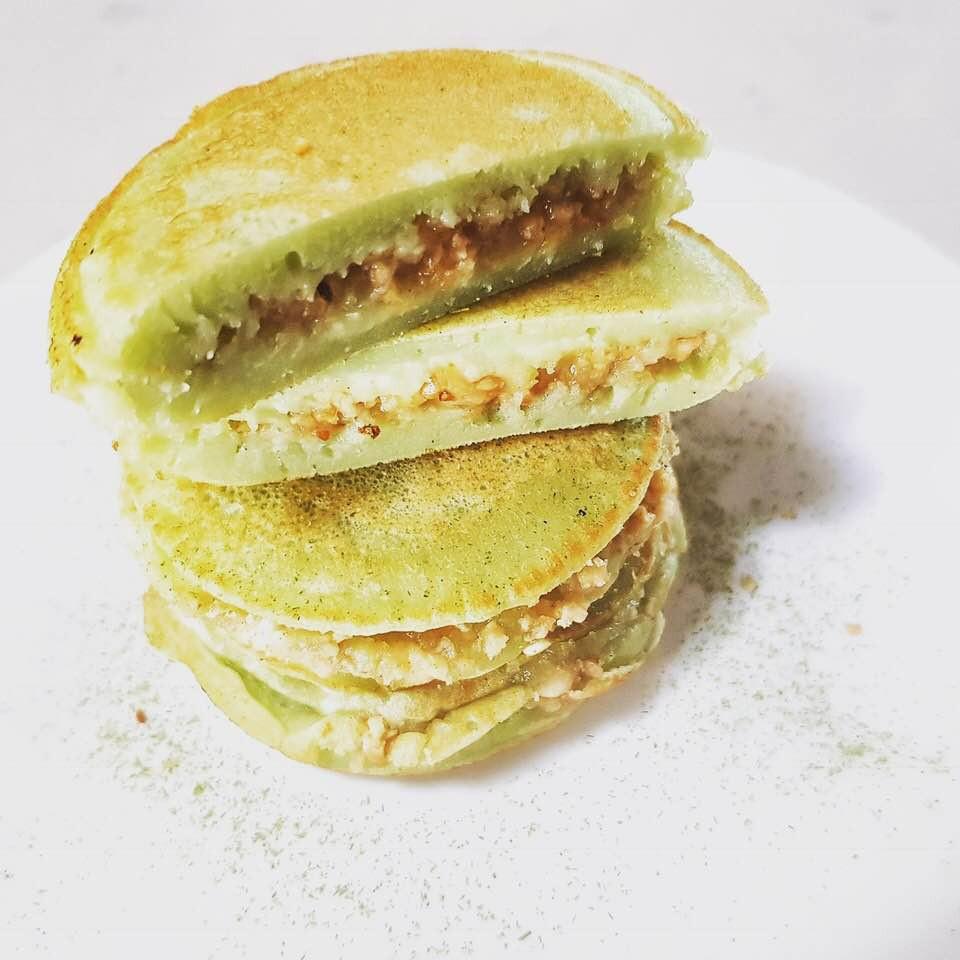 Pandan Pancake | MY BLUE TEA