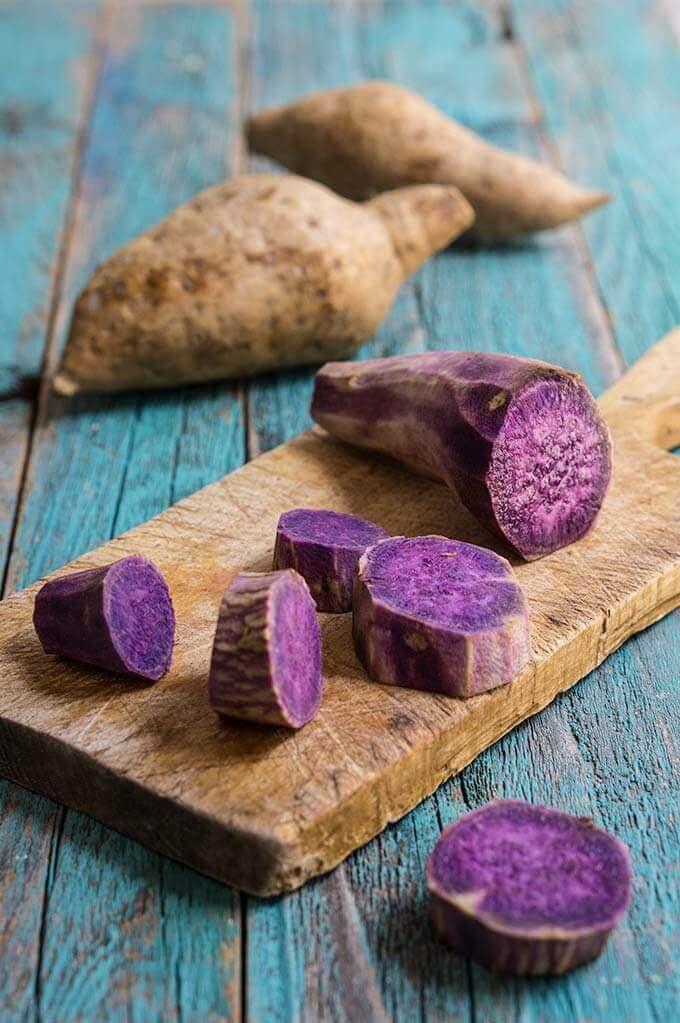 Purple Sweet Potato | Blue Tea | MY BLUE TEA