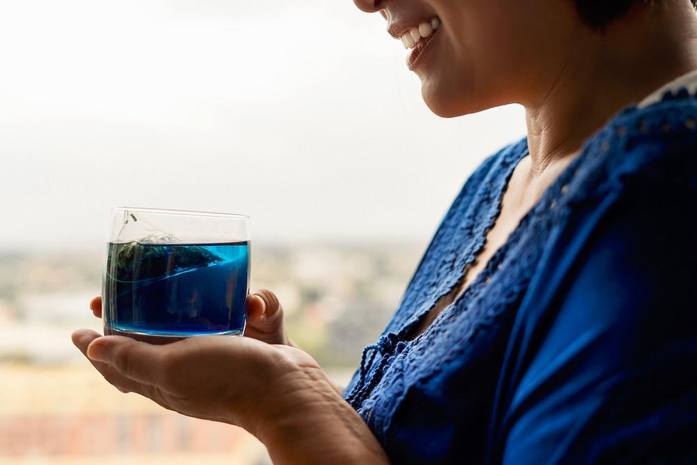 BUTTERLY PEA FLOWER TEA | BLUE TEA