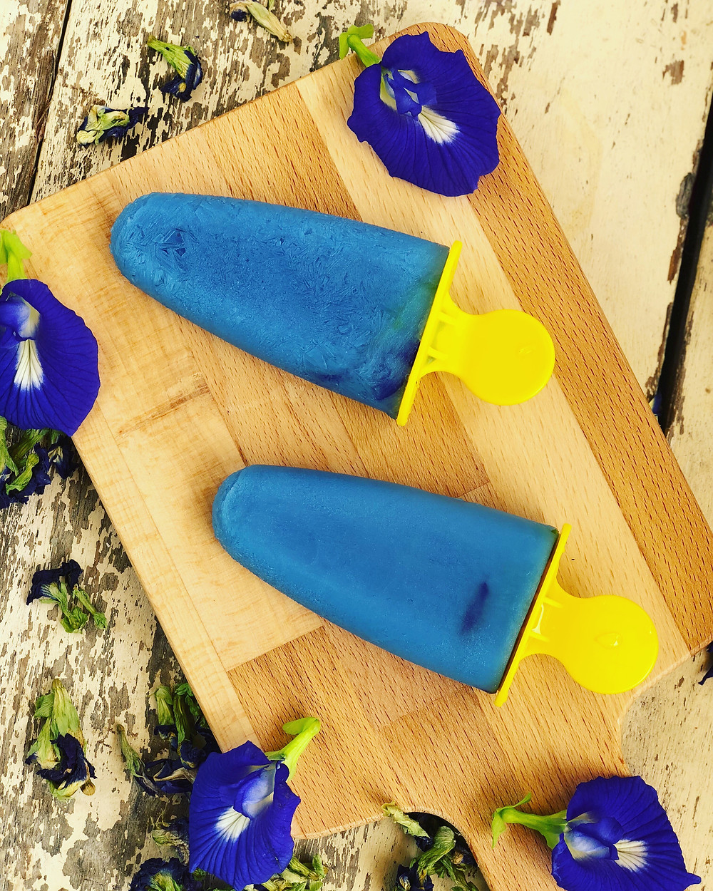 Ice Popsicles | BLUE TEA | MY BLUE TEA