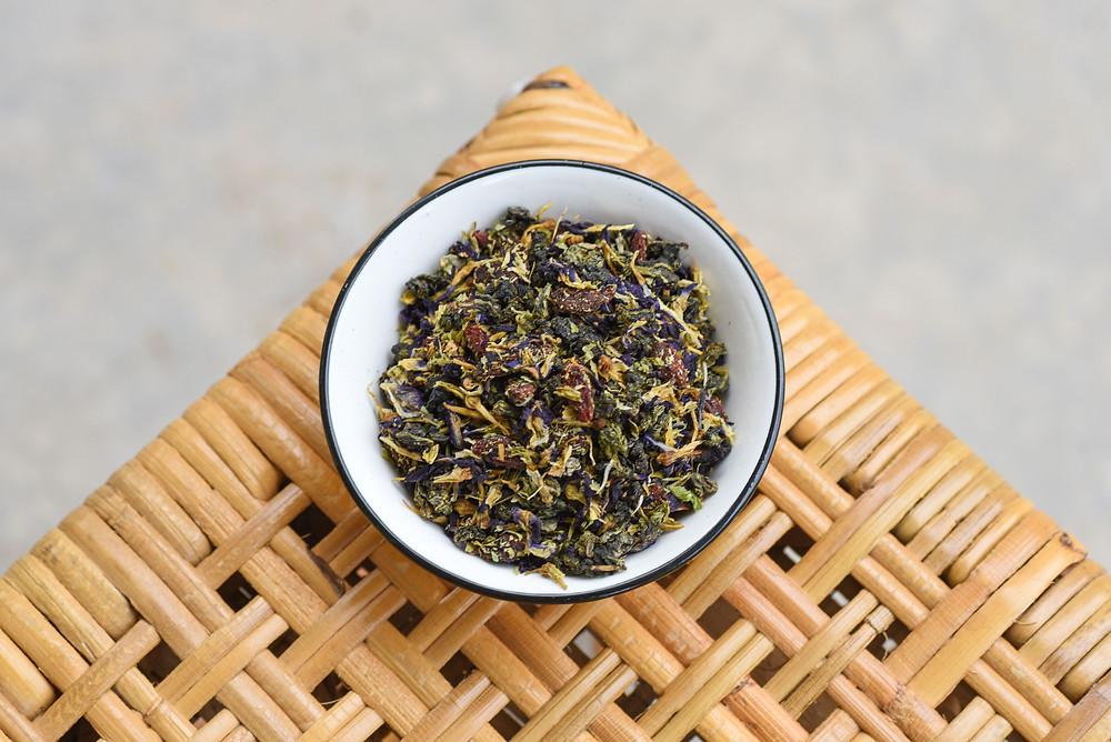 Oolong | Tie Guan Yin | Butterfly Pea tea