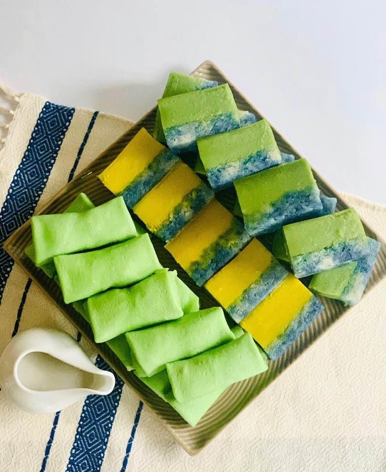 Pandan   Durian   Serimuka   Blue Tea