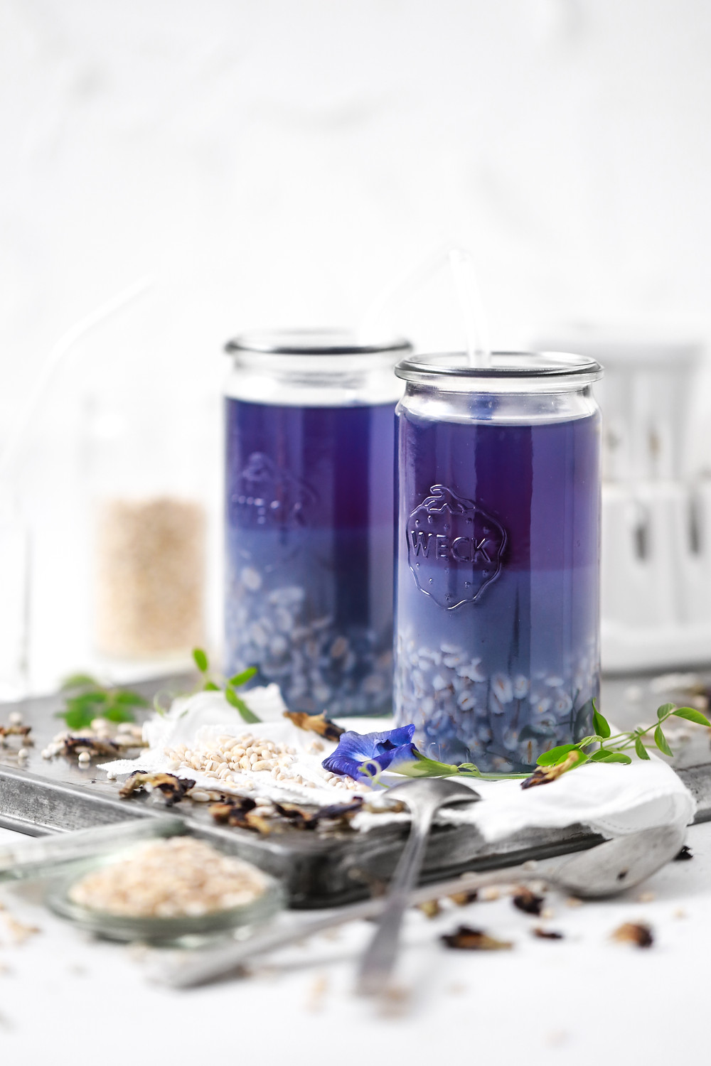 Blue Tea Barley Drink | My Blue Tea