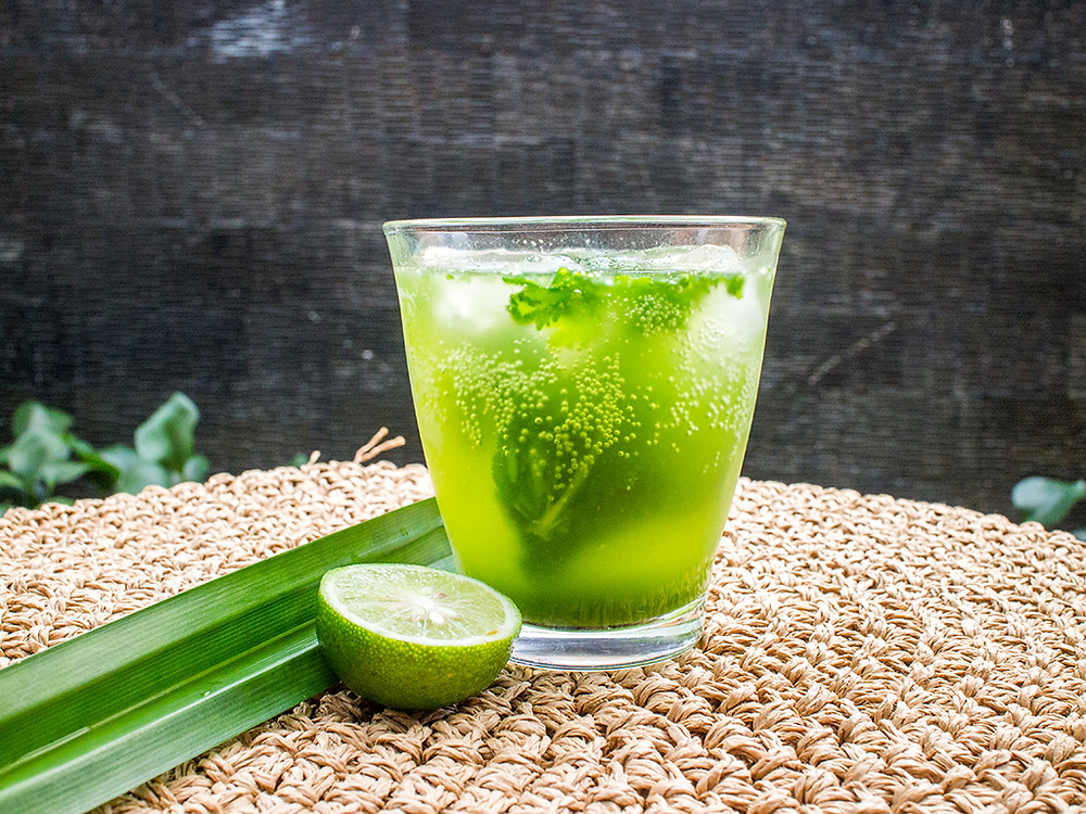 Pandan Mocktail | Christmas