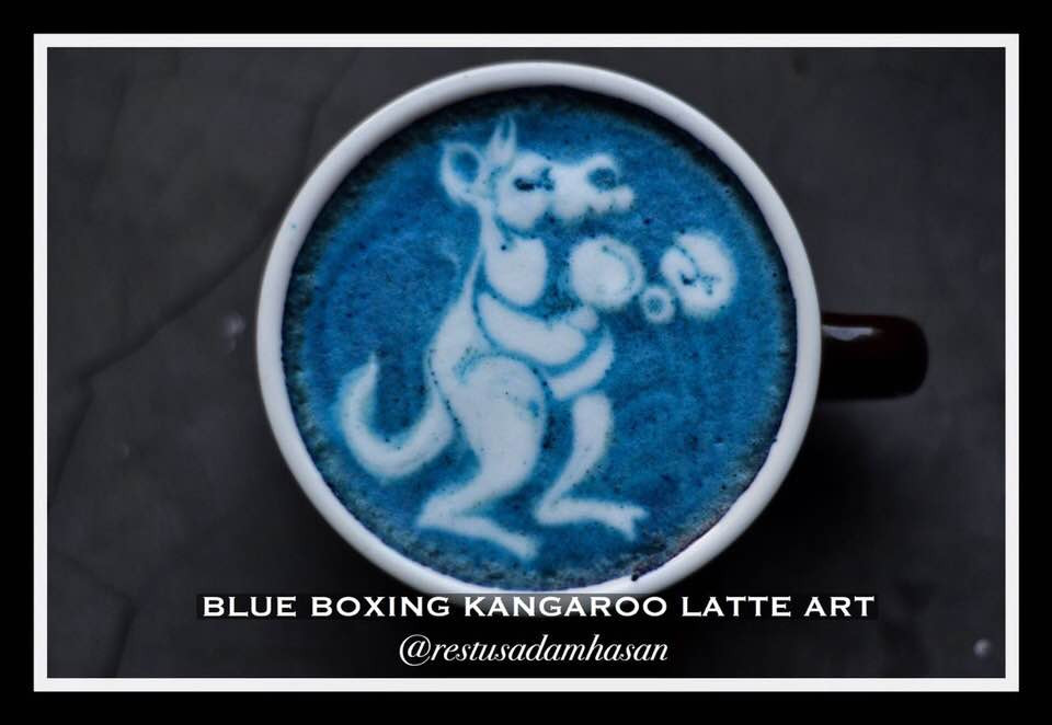 BLUE LATTE  | MY BLUE TEA | BLUE TEA