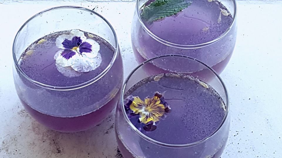 Butterfly Pea Sangria | MY BLUE TEA