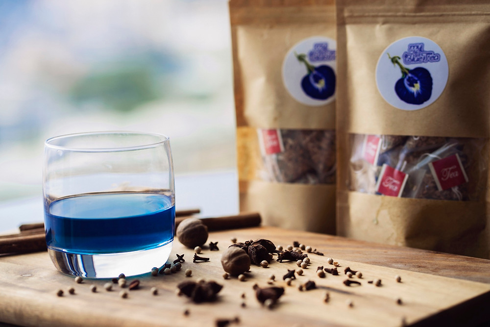 Butterfly Pea Flower Tea | MY BLUE TEA