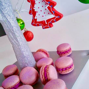BEAUTIFUL PURPLE SWEET POTATO MACARONS THIS CHRISTMAS