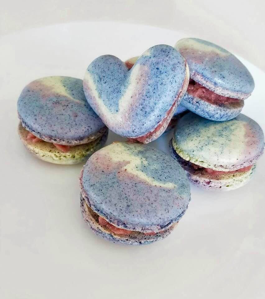 Macaron | Butterfly Pea | MY BLUE TEA