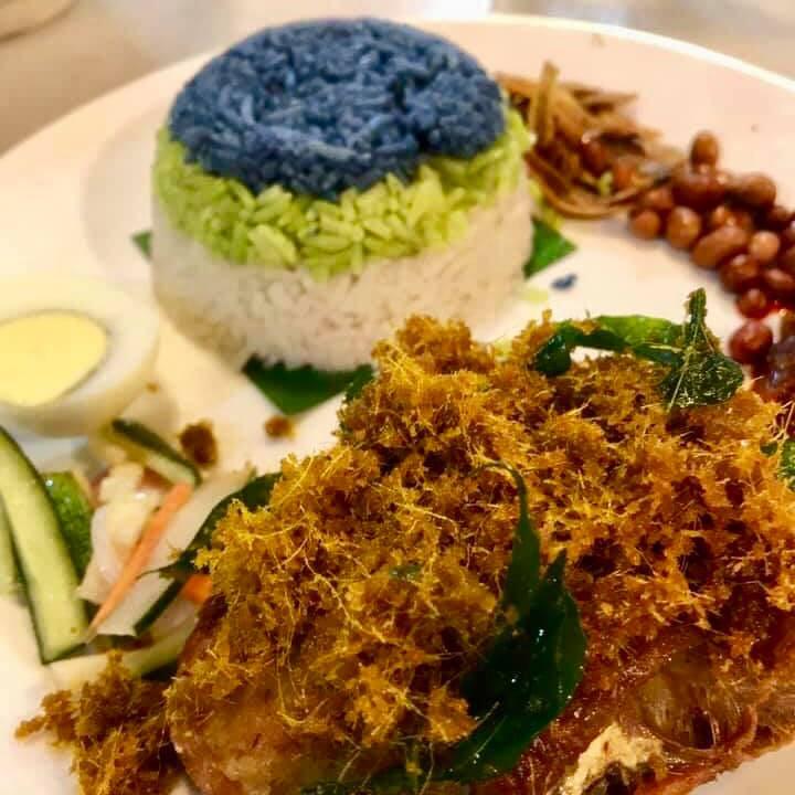 Pandan Rice | MY BLUE TEA
