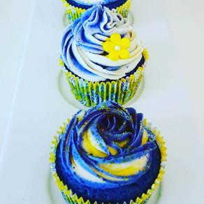 BUTTEFLY PEA - BLUE VELVET CUPCAKES