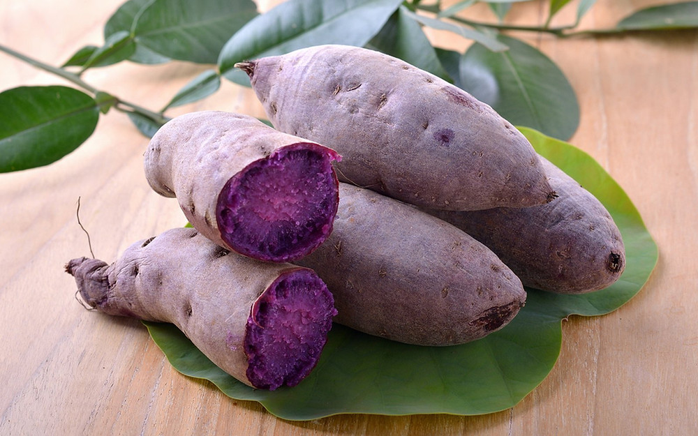 Purple Sweet Potato | Okinawan Potato | Blue Tea