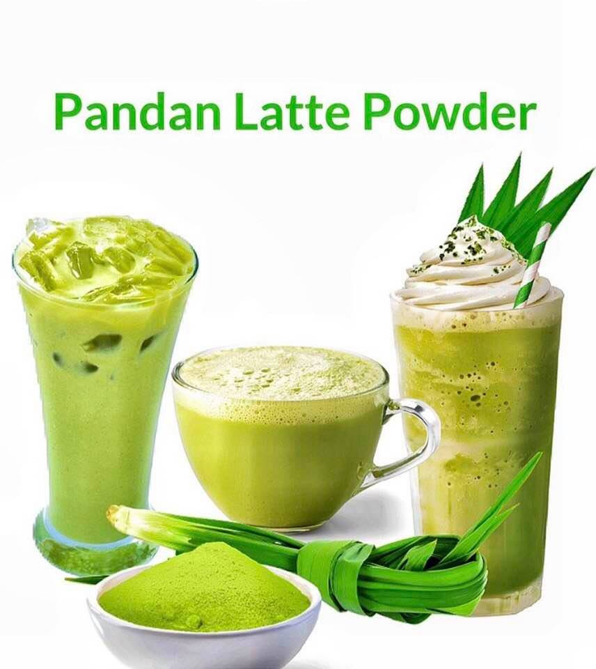 See what you can do with My Blue Tea's Pandan Latte Blend.