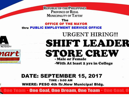 TO ALL JOB SEEKERs !!!