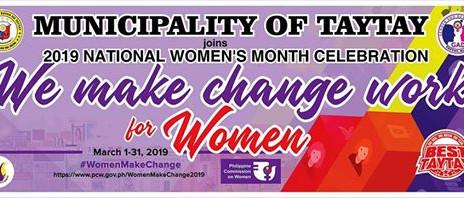 Happy National Women's Month! Mabuhay ang mga kababaihan