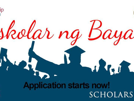 ISKOLAR NG BAYAN APPLICATION