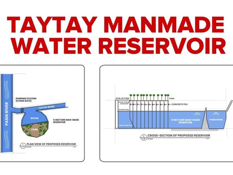 The Taytay Man Made Water Reservoir
