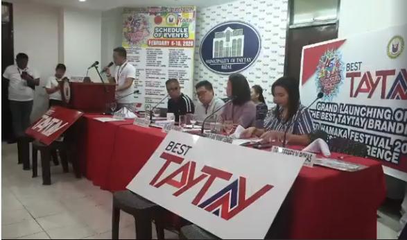 Video Screenshot: Courtesy of Taytay Public Information Office
