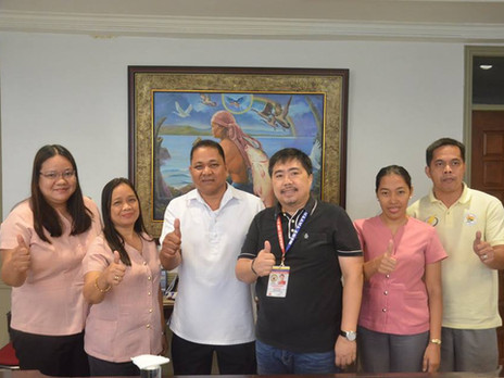 Courtesy visit of Mr. Angelito T. Teodoro, the new Principal of San Francisco Elementary School.
