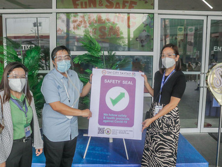 The Taytay Safety Seal Certification