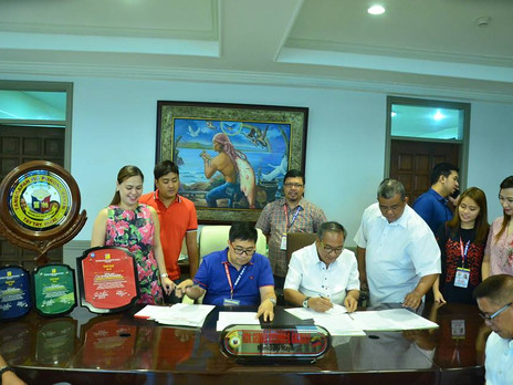 The Municipality of Taytay welcomes the LGU Officials of Bombon Camarines Sur for Sisterhood MOA sig