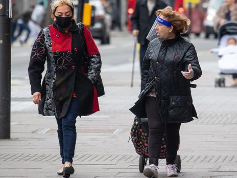 Mandatory Use of Face shield and Mask