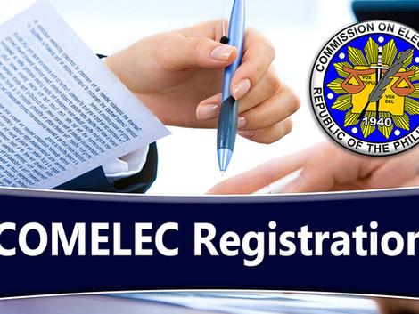 Voter's Registration Resumes