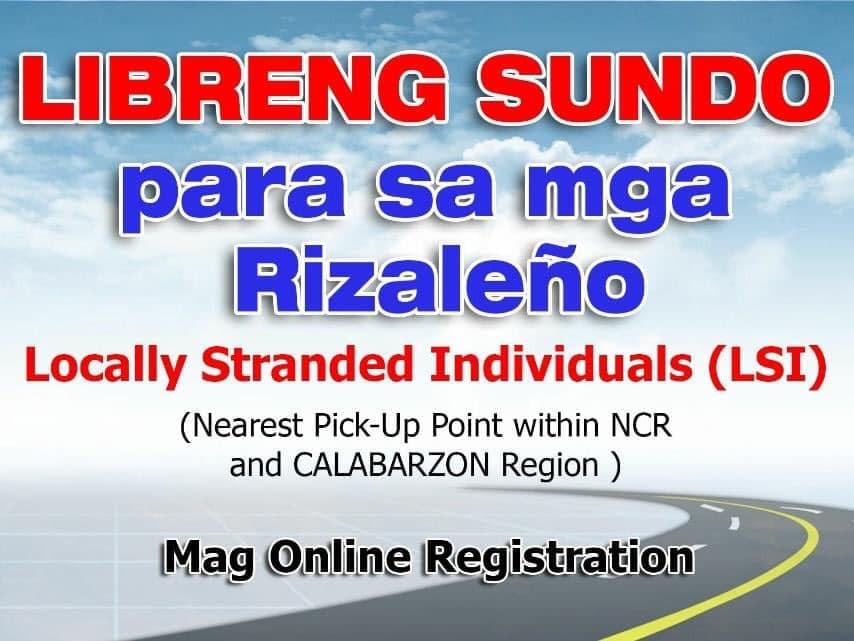 Photo Courtesy: Lalawigan ng Rizal (Official)