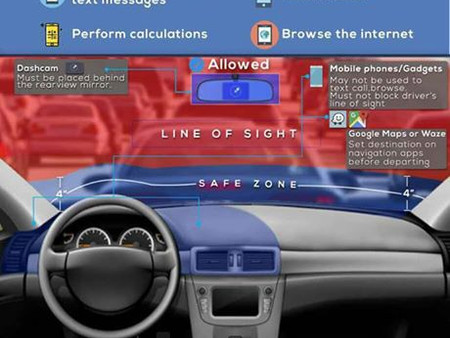 REVISED ANTI-DISTRACTED DRIVING ACT NOW IN EFFECT NATIONWIDE