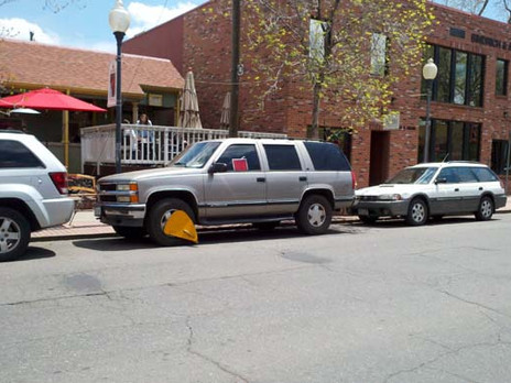 Wheel Clamping Operations for Illegally Parked Vehicles Will Resume