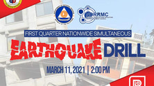NDRRMC's First Quarter Online Nationwide Simultaneous Earthquake Drill(NSED)
