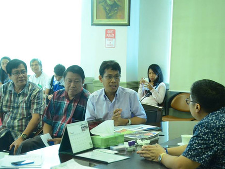 welcoming the Board of Directors & members of the United Architects of the Philippines(UAP) Riza