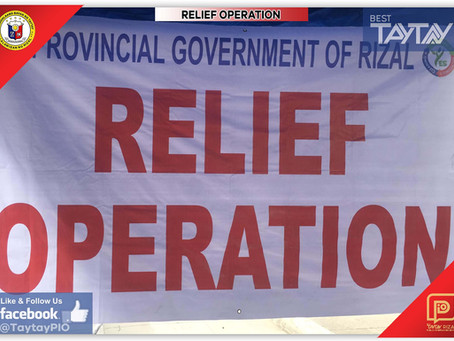 Relief Assistance To Local Jeepny Drivers