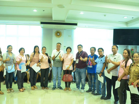 Oath-taking of the newly elected officers and members of Antonio C. Esguerra Memorial National Highs