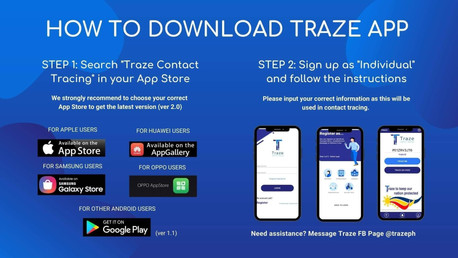 TRAZE Contact Tracing for Tricycles