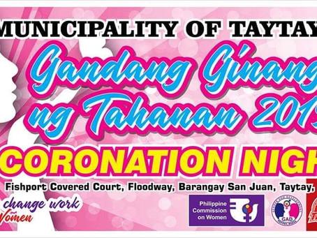Gandang Ginang Coronation Night